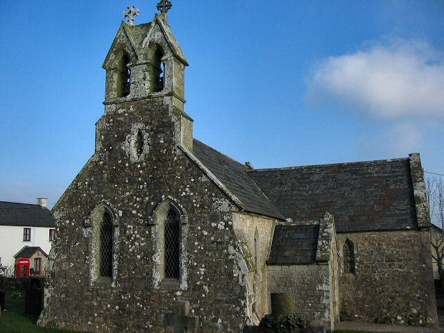Flemingston church - Glamorgan