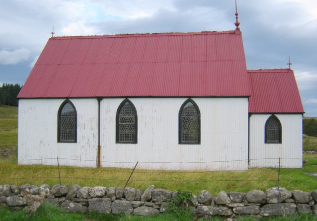 Tin Church at Syre, Strathnaver