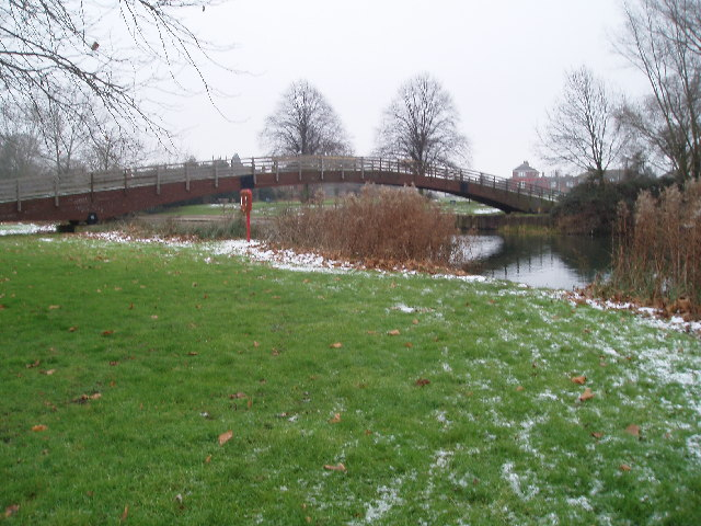 Footbridge over Great Ouse