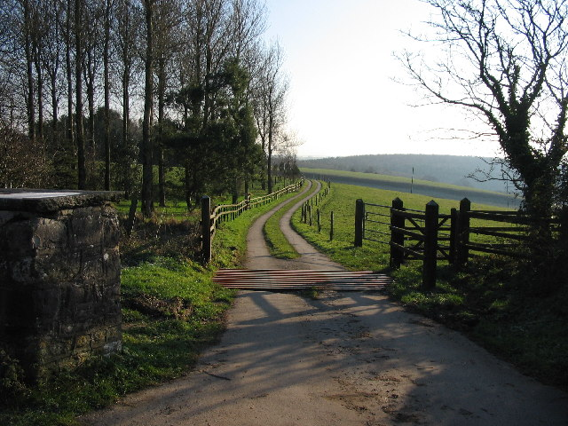 Entrance to the Coed Hills - Vale of Glamorgan