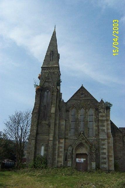 Derelict Church Lamlash Isle of Arran