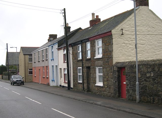 Housing Terrace on the Illogan Road