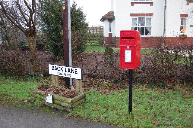 Post Box Back Lane