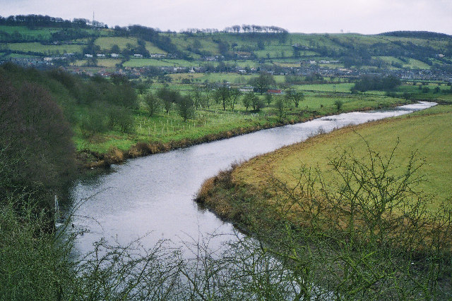 Bend in the River Calder, Whalley