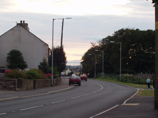The Isle of Man visible from Crosby on the A596