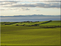 NY0638 : Solway Firth and Galloway Hills viewed from near Crosscanonby by ally McGurk