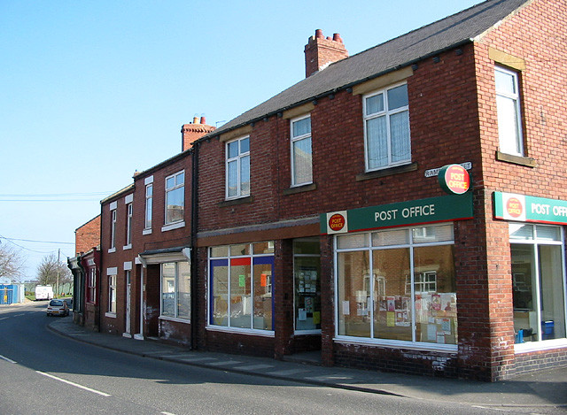Post Office on Ramsay Street, High Spen