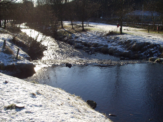 Ford over River Lyne, West Linton