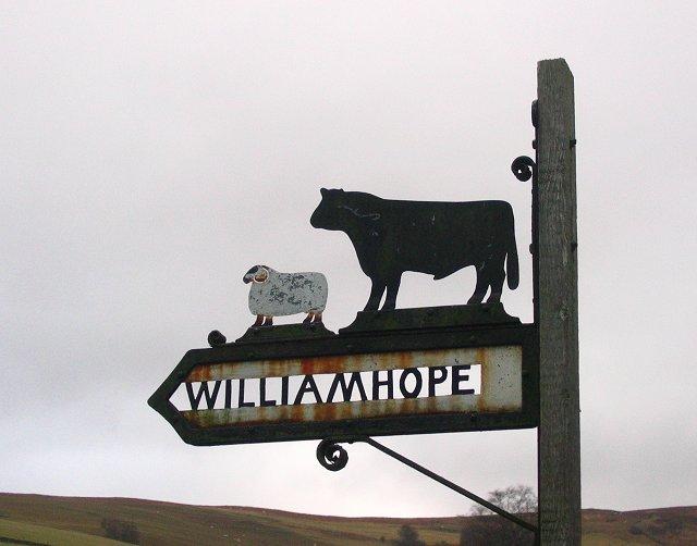 Farm sign .