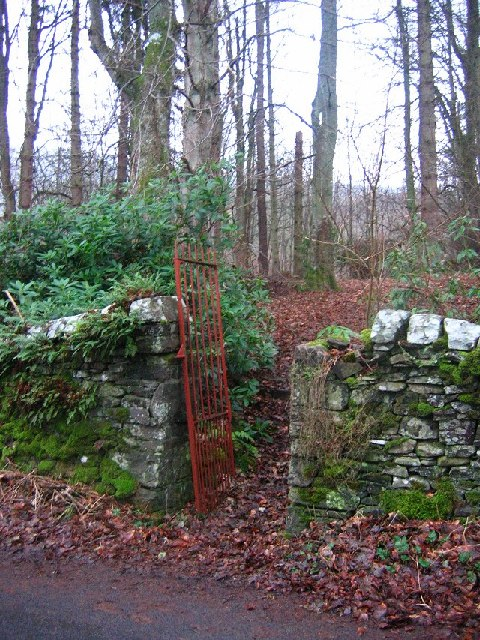 Old gate, Peel.