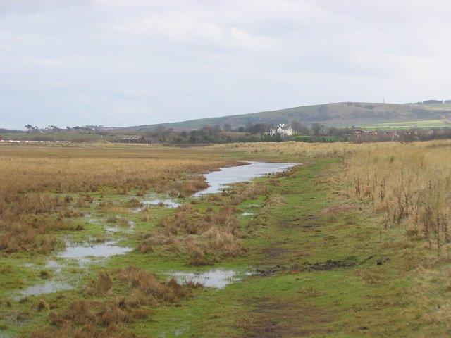 The old shoreline, Belhaven Bay