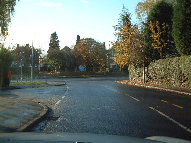 The north end of Stockton Lane