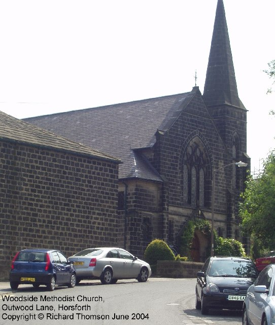 Woodside Methodist Church, Outwood Lane, Horsforth
