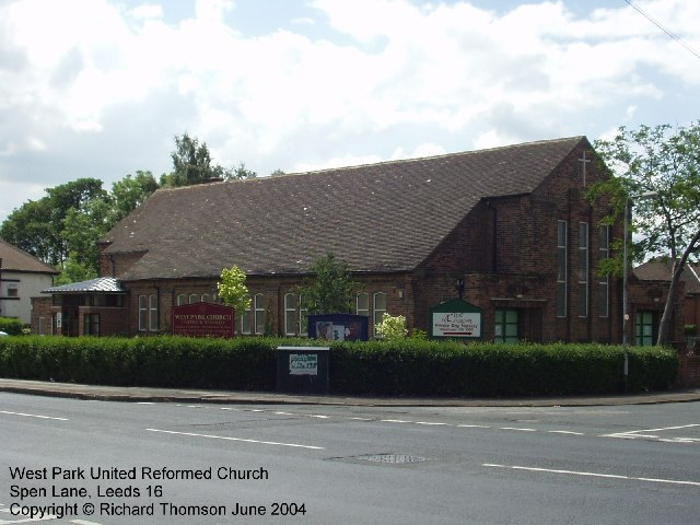 West Park United Reformed Church, Spen Lane, West Park, Leeds