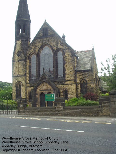 Woodhouse Grove Methodist Church, Apperley Lane, Bradford