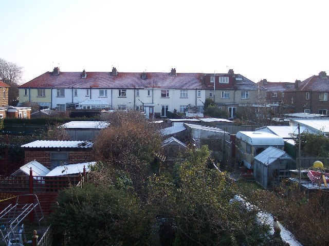 Back Gardens of Eastern Avenue and Adur Drive