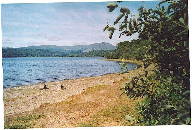 Loch Vennachar looking west to Ben Venue