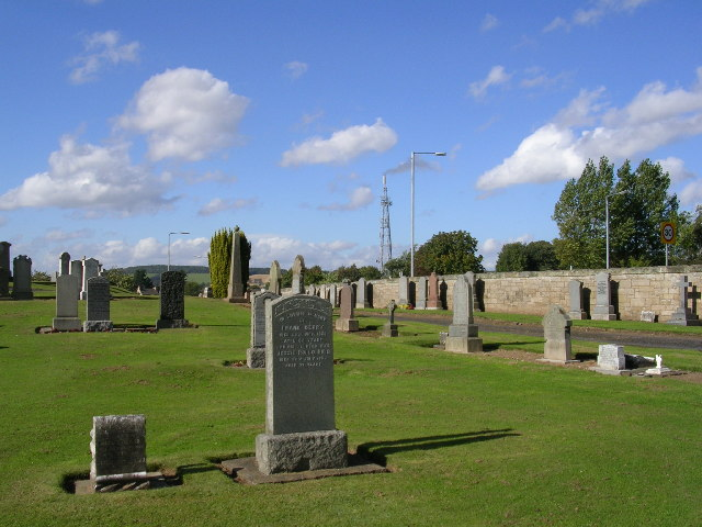 Cupar Cemetery on Ceres Road
