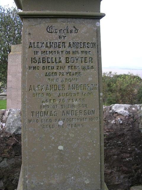 Balmerino Graveyard