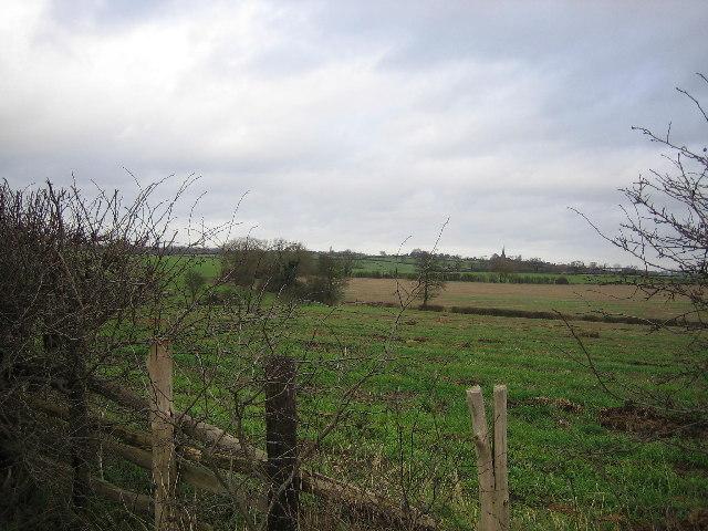 Fields looking toward Seckington