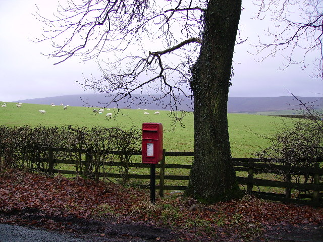Post Box Over Wyresdale