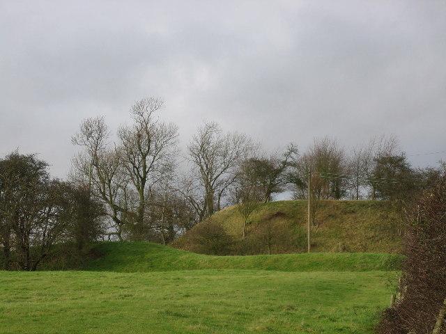 Seckington castle motte and bailey