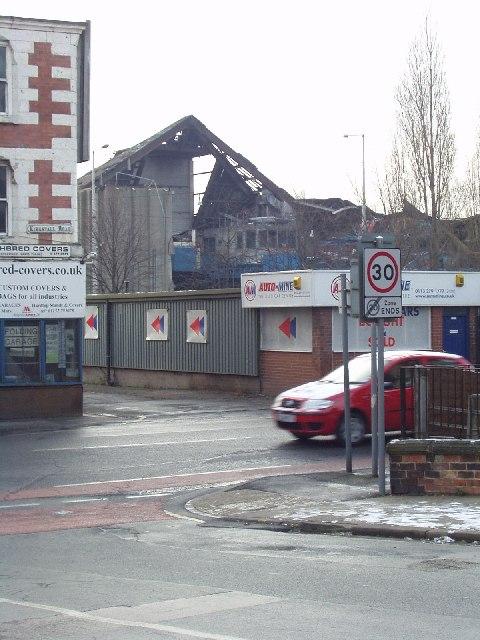 Derelict Recycling Plant, Burley, Leeds