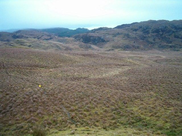 View towards Cruach an Eachlaich