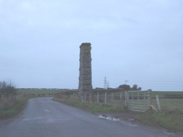 Stone Column near Lindal-in-Furness