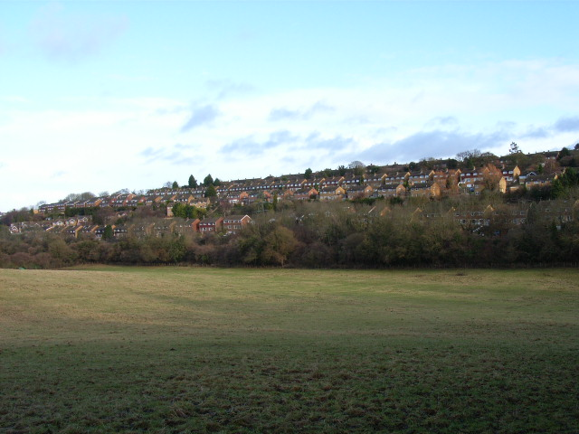 The western edge of High Wycombe