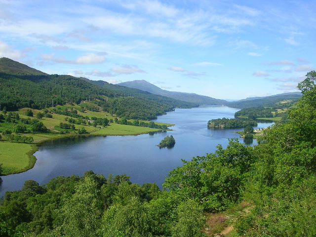 Queen's View of Loch Tummel