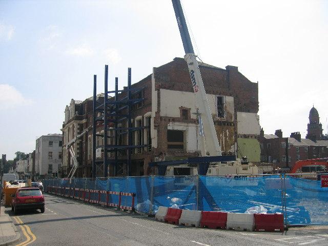Woodwards demolition