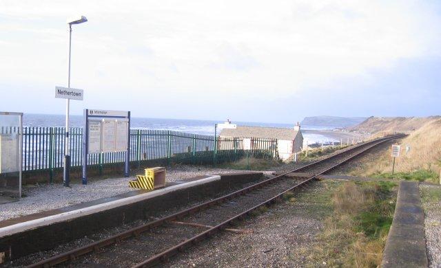 Nethertown Railway Station.