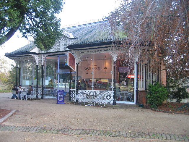 The Aviary Cafe, Jephson Gardens