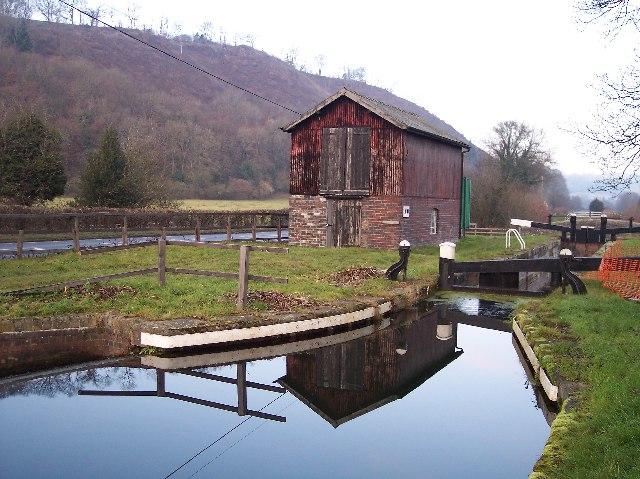 Brynderwen Lock, Near Newtown, Powys
