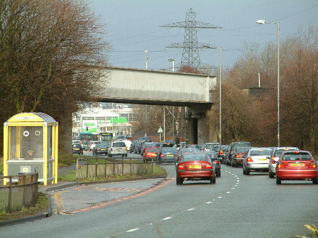 Bridge over the A59
