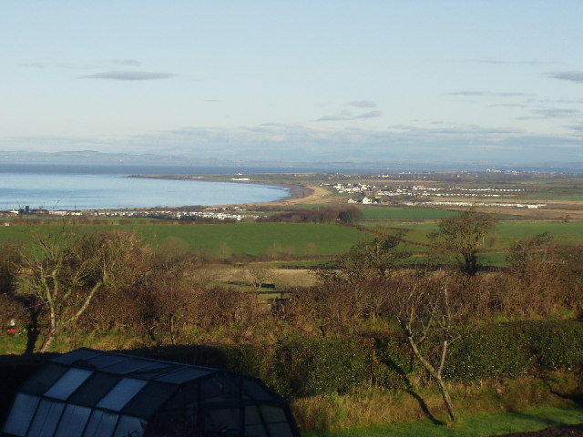 Allonby and Allonby Bay from the south