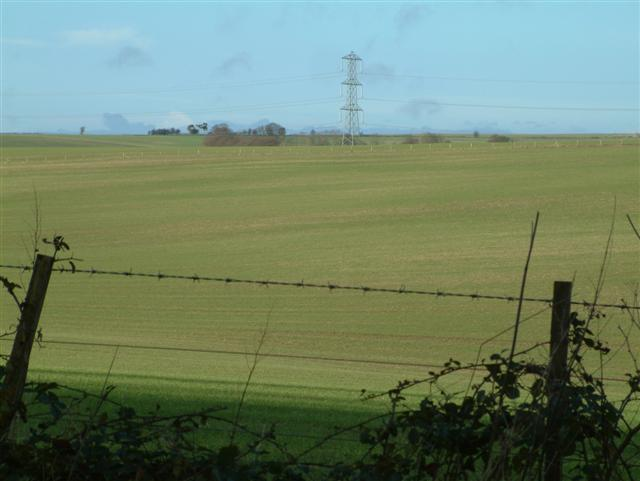 Across the fields to Cannon Heath Farm