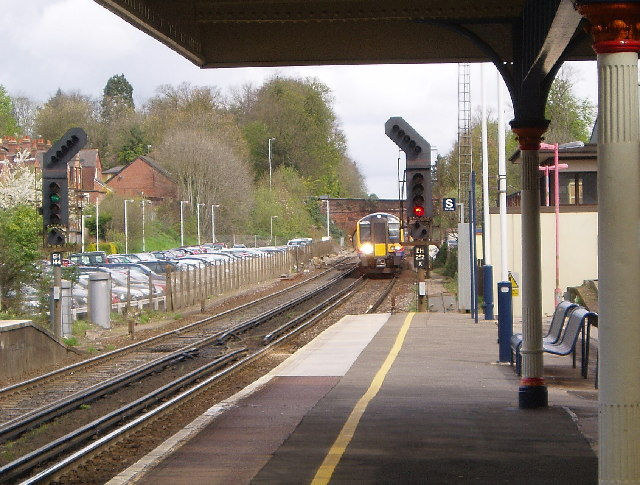 Winchester Station looking North