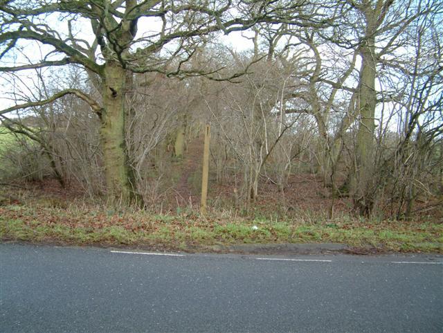 Portway Roman Road at Clap Gate
