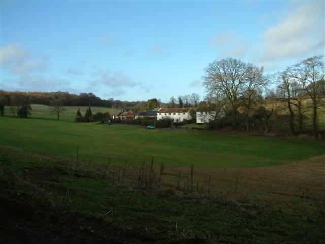 Cottages west of Dunley