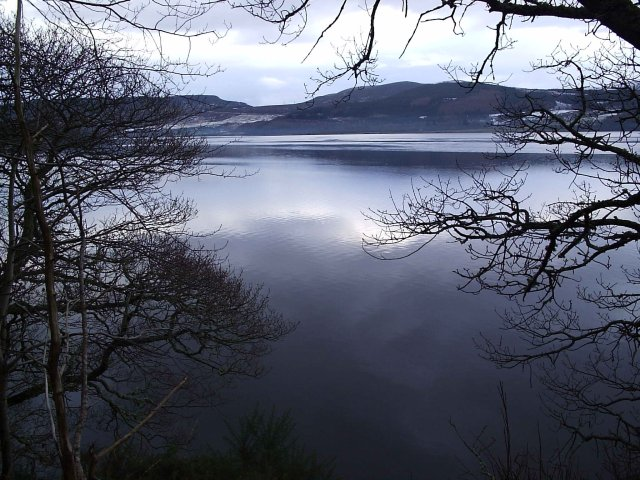 Looking over the Dornoch Firth New Year's Day 12 noon 2006