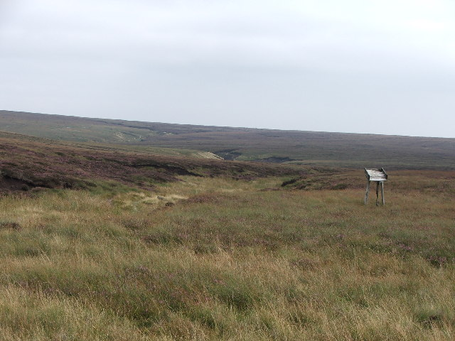 Moorland near Meugher.