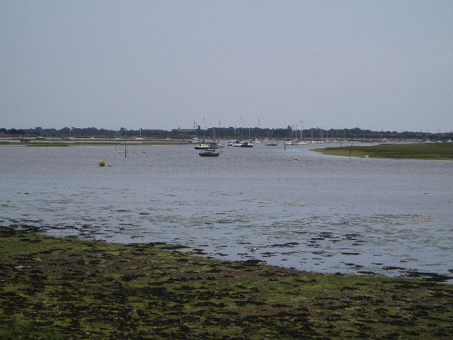 Emsworth Channel at Low Tide