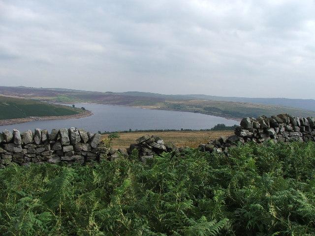 Grimwith Reservoir.