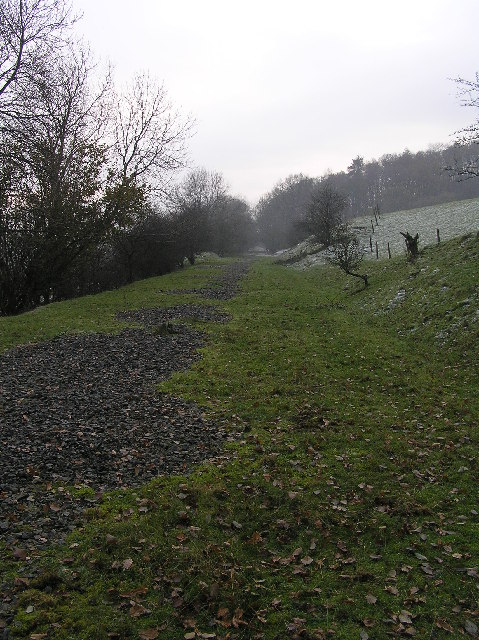 Former railway  along Lune valley