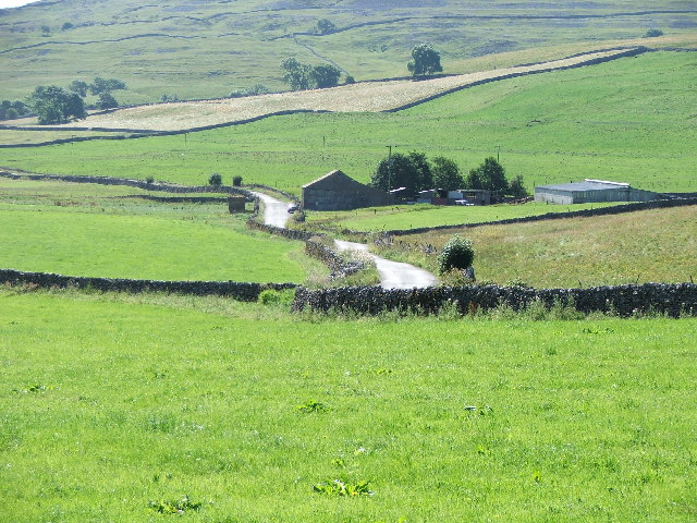 Farm buildings in Littondale.