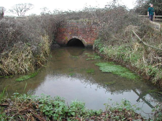Railway bridge over rhyne