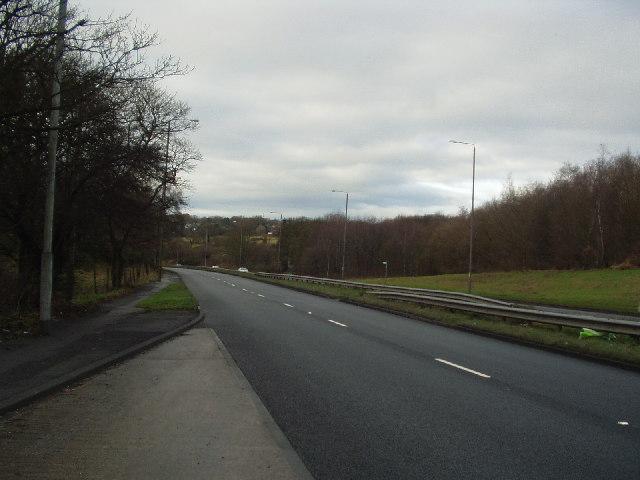 Leeds Ring Road, between Moor Allerton & Adel