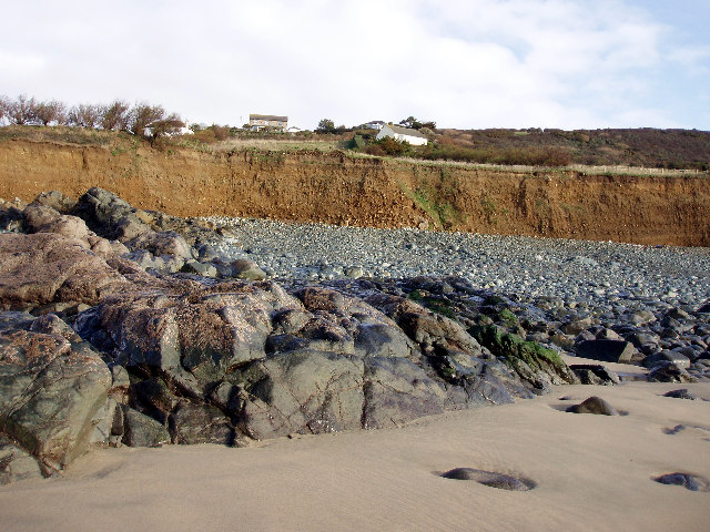 Cliffs at Perran Sands